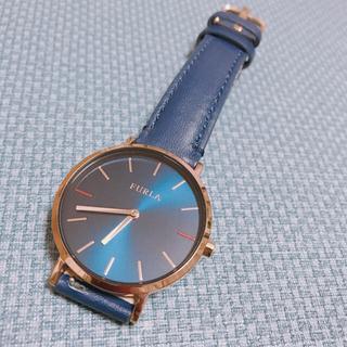 フルラ(Furla)の完全未使用FURLAネイビーレディース腕時計(腕時計)