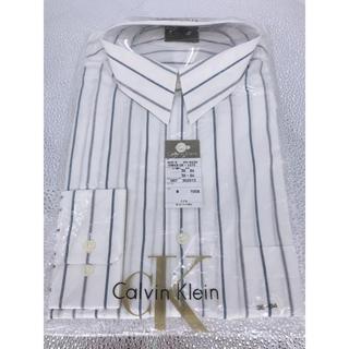 カルバンクライン(Calvin Klein)の(新品未使用)CK カルバンクライン ドレスシャツ ホワイト(シャツ)