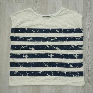 ジエンポリアム(THE EMPORIUM)のレース花柄🌸Tシャツ(Tシャツ(半袖/袖なし))