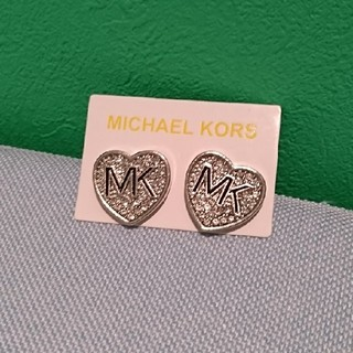 マイケルコース(Michael Kors)の新品 マイケル・コースピアス シルバーハート(ピアス)