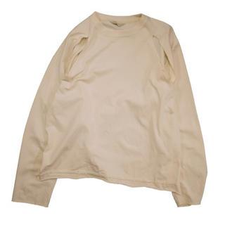 ジエダ(Jieda)のJieDa SLIT L/S T-SHIRT BEIGE 2(Tシャツ/カットソー(七分/長袖))