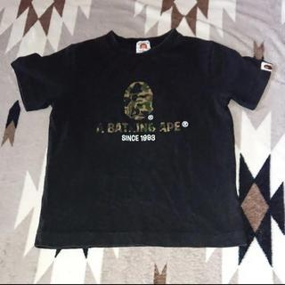 アベイシングエイプ(A BATHING APE)のBAPE KIDS カモフラ Tシャツ A BATHING APE(Tシャツ/カットソー)