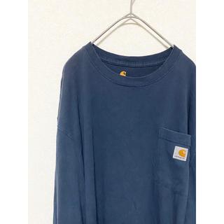 カーハート(carhartt)の【激レア】90s カーハート ロンT 長袖(Tシャツ/カットソー(七分/長袖))