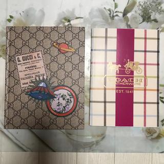 グッチ(Gucci)のグッチ コーチノート2冊セット(ノート/メモ帳/ふせん)