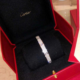 カルティエ(Cartier)のラブブレスフルダイヤ 2枚目(ブレスレット)