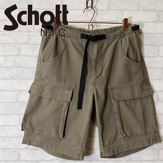 ショット(schott)の【Schott】ショット ブッシュパンツ  ハーフ 企画生産(株)エドウィン/M(ワークパンツ/カーゴパンツ)