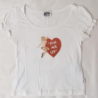 ケイティー(Katie)のkatie PIN ME UP カットソー(Tシャツ(半袖/袖なし))
