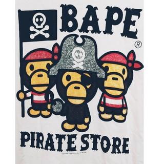 アベイシングエイプ(A BATHING APE)のA BATHING APE 海賊モチーフ Tシャツ ビッグシルエット(Tシャツ/カットソー(半袖/袖なし))