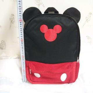 ミッキーマウス(ミッキーマウス)の【コメント歓迎】耳付きリュック ミッキー(リュック/バックパック)