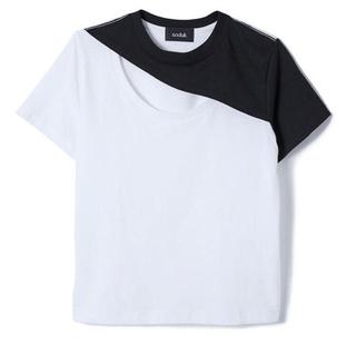 アメリヴィンテージ(Ameri VINTAGE)のsoduk(スドーク) hole t-shirt Tシャツ (Tシャツ(半袖/袖なし))
