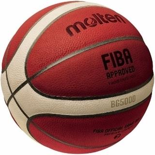 モルテン(molten)の新品未使用 モルテン BG5000 バスケットボール 7号球 公式認定球(バスケットボール)