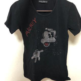 ドルチェアンドガッバーナ(DOLCE&GABBANA)のDOLCE&GABBANA ミッキーTシャツ(Tシャツ(長袖/七分))