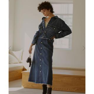 アメリヴィンテージ(Ameri VINTAGE)の4WAY DENIM DRESS COAT (Gジャン/デニムジャケット)