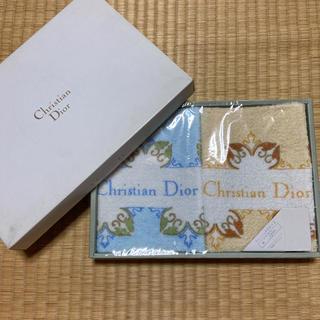 クリスチャンディオール(Christian Dior)のディオール タオル二枚組(タオル/バス用品)