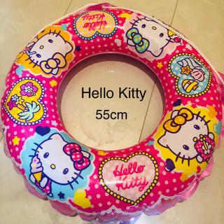 ハローキティ(ハローキティ)のHello Kitty 女の子 浮き輪 55cm(マリン/スイミング)