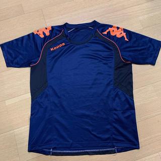 カッパ(Kappa)のプラクティスシャツ 半袖 カッパ KF412TS12 サッカー フットサル (ウェア)