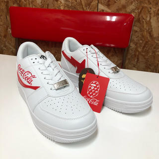 アベイシングエイプ(A BATHING APE)のA BATHING APE COCACOLA BAPESTA 26.5cm (スニーカー)