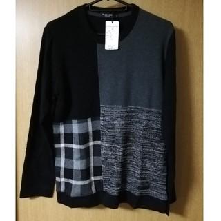 ブラックレーベルクレストブリッジ(BLACK LABEL CRESTBRIDGE)のBLACK LABEL CRESTBRIDGE 長袖 ニットソー【新品】(Tシャツ/カットソー(七分/長袖))