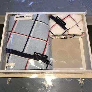 レノマ(RENOMA)のレノマ バスタオル 1枚 ハンドタオル 1枚(タオル/バス用品)