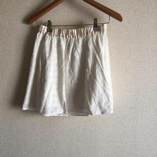 レピピアルマリオ(repipi armario)のスカート レピピアルマリオ ホワイト お花(スカート)
