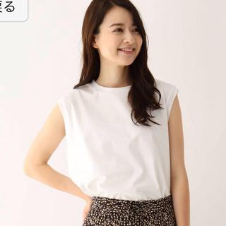 オペークドットクリップ(OPAQUE.CLIP)のノースリーブTシャツ(Tシャツ(半袖/袖なし))