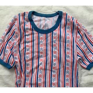 サンタモニカ(Santa Monica)のvintage euro リンガーT(Tシャツ(半袖/袖なし))