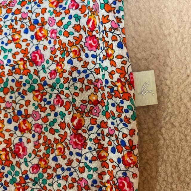 agnes b.(アニエスベー)のアニエスベー ワンピース 90 95 リバティ キッズ/ベビー/マタニティのキッズ服女の子用(90cm~)(ワンピース)の商品写真