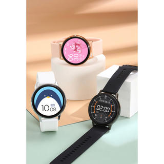 スマートウォッチ 心拍計 歩数計 血圧計 Android iPhone(腕時計(デジタル))