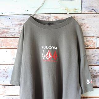 ボルコム(volcom)のVOLCOM ボルコム Tシャツ チャコールグレー L(Tシャツ/カットソー(半袖/袖なし))