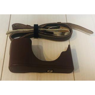 オリンパス(OLYMPUS)のOLYMPUS PEN E-P5専用 本革製ボディージャケット(その他)
