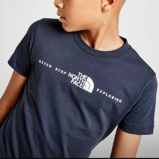 ザノースフェイス(THE NORTH FACE)のノースフェイス Tシャツ ネイビー キッズ120相当(Tシャツ/カットソー)