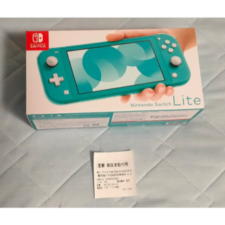 ニンテンドウ(任天堂)のNintendo Switch Lite ターコイズ 新品未使用(携帯用ゲーム機本体)