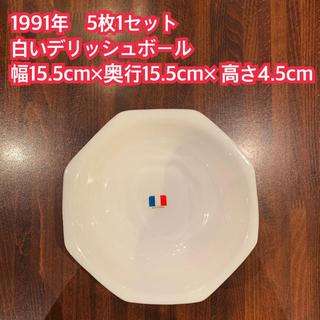 山崎製パン - 1991年 ヤマザキ春のパン祭り 5枚1セット 白いデリッシュボール