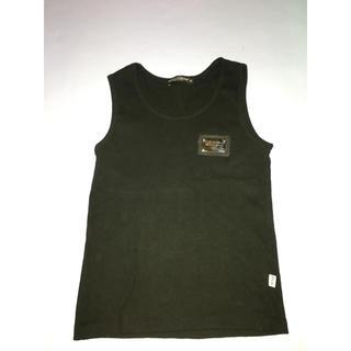 ドルチェアンドガッバーナ(DOLCE&GABBANA)のDOLCE&GABBANA タンクトップ プレート付き(Tシャツ/カットソー(半袖/袖なし))