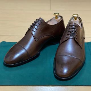 ユナイテッドアローズ(UNITED ARROWS)のUNITED ARROWS 外羽根ストレートチップ革靴 8ハーフダークブラウン(ドレス/ビジネス)
