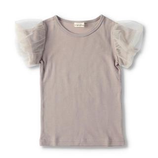 ブランシェス(Branshes)のブランシェス 130 袖チュールTシャツ(Tシャツ/カットソー)