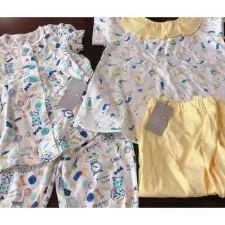 ブリーズ(BREEZE)の〈新品〉パジャマ アンパサンド  半袖 100 2枚セット(パジャマ)