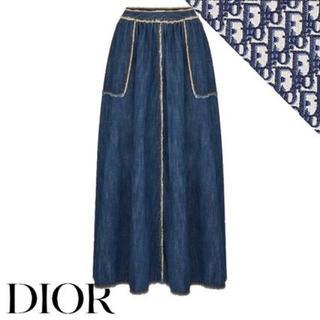 クリスチャンディオール(Christian Dior)の2020 SS ディオール デニム ロング スカート(ロングスカート)