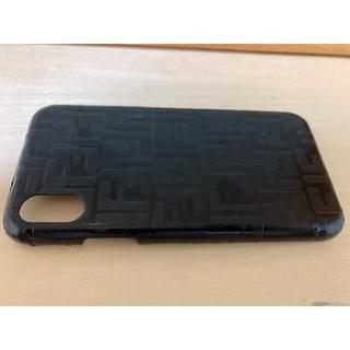 フェンディ(FENDI)のFENDI スマホケース iPhoneX(iPhoneケース)