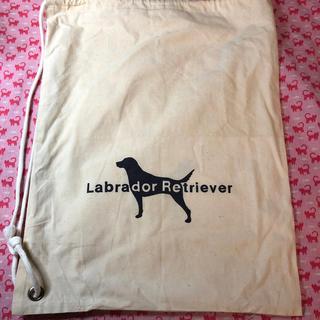 ラブラドールリトリーバー(Labrador Retriever)の布巾着袋⭐️Labrador  Retriever ⭐️ノベルティ(ショップ袋)