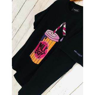 ミルクボーイ(MILKBOY)の毒危険shake。爆限定最高映えMILKBOYTシャツCIVARIZE レフレム(Tシャツ/カットソー(半袖/袖なし))