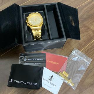 CRYSTALCARTER クリスタルカーター アバランチ 腕時計 GOLD