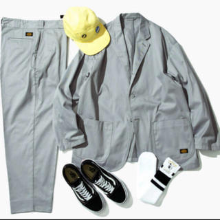 BEAMS - Dickies tripster  LIGHT GREY SUITS