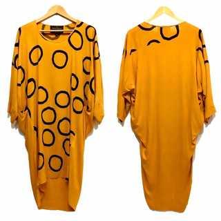 ヴィヴィアンウエストウッド(Vivienne Westwood)の極美品 ヴィヴィアンウエストウッド アングロマニア サークル ドット ワンピース(ロングワンピース/マキシワンピース)