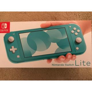 【新品・未開封】Nintendo Switch Lite ターコイズ(家庭用ゲーム機本体)