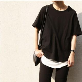 アンティカ(antiqua)のトップス(Tシャツ(半袖/袖なし))