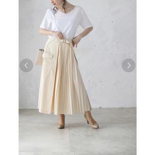 カワイイ(cawaii)のcawaii ラップデザインのプリーツスカート(ロングスカート)