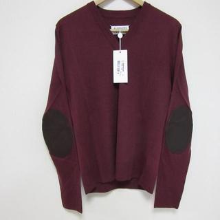 マルタンマルジェラ(Maison Martin Margiela)の新品マルジェラ 定番 エルボーパッチニット Vネックセーター M(ニット/セーター)