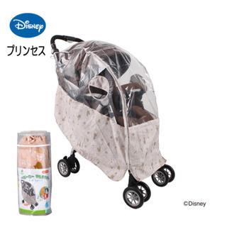 ディズニー(Disney)のディズニー ベビーカー レインカバー プリンセス(ベビーカー用レインカバー)