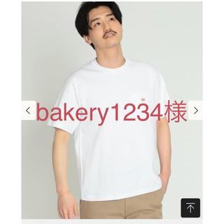 ダントン(DANTON)のDANTON / ロゴ ポケット Tシャツ白メンズビームス 購入(Tシャツ/カットソー(半袖/袖なし))